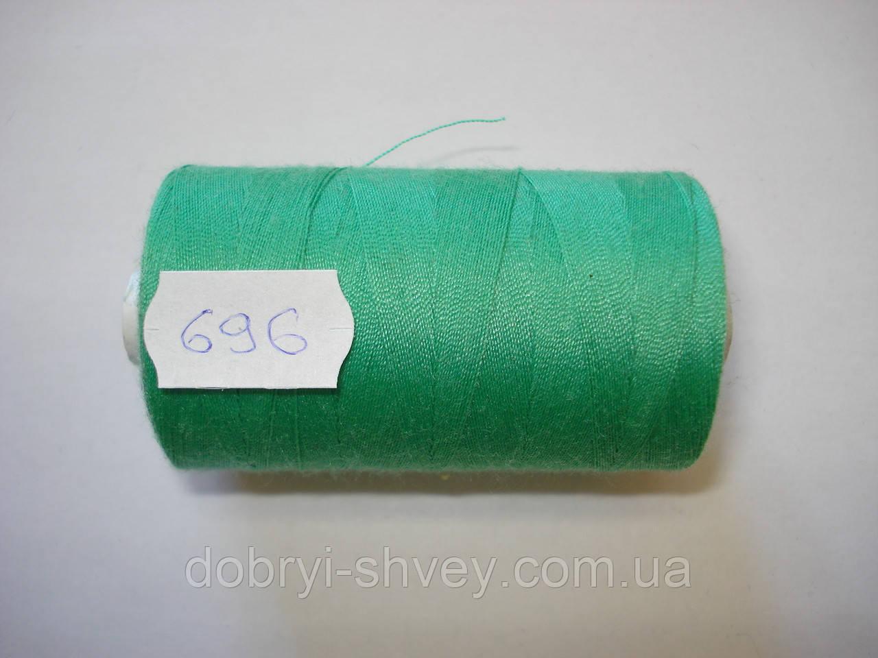 Нитка TRIGAN №80 1000м.col 696 бледно-салатовый (шт.)