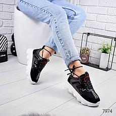 """Кроссовки женские """"Ionez"""" черного цвета из текстиля. Кеды женские. Мокасины женские. Обувь женская, фото 3"""