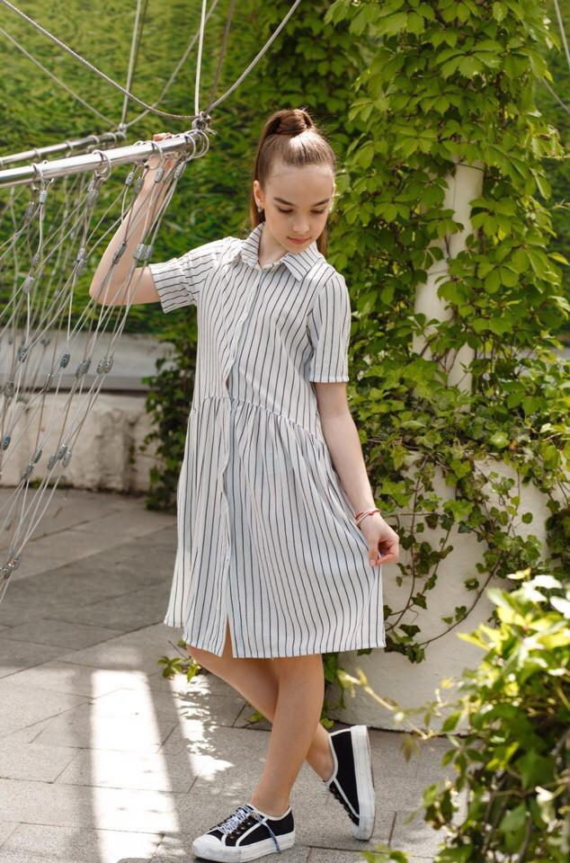 Платье LiLove 451-2 152 белый
