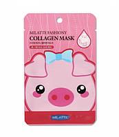 Тканевая маска для лица Milatte Fashiony Collagen Mask