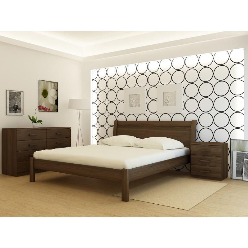 """Кровать деревянная TM """"YASON"""" Chalkida (Массив Ольхи либо Ясеня), фото 1"""