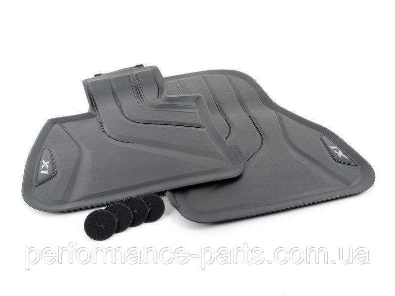 Коврики в салон для BMW X1 (F48) '16- передние 2 шт 51472365853