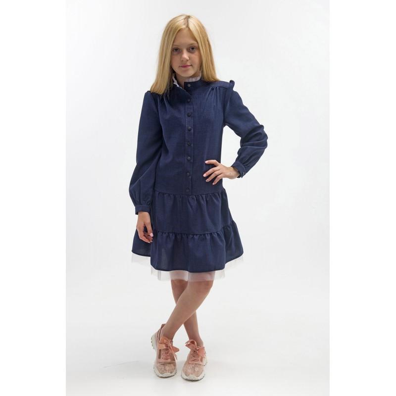 Платье Лилу РПЛ 2445 темно-синий
