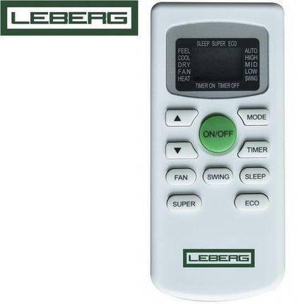 Кондиционер- Leberg Thor Inverter New (-15°C) LBS-TOR09/LBU-TOR09, фото 2