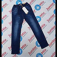 Подростковые джинсы на резинке для мальчиков  оптом  GRACE 134----164см.