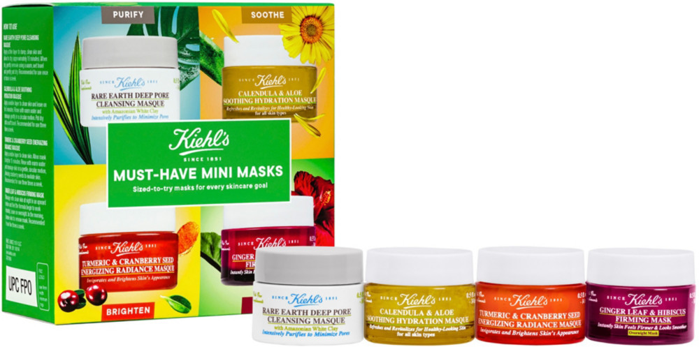 Набор масок для лица KIEHLS Must Have Mini Masks