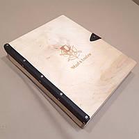 Подарочная деревянная коробка. Коробки декоративные деревянные., фото 1