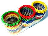Яйцерезка-овощерезка d=60mm, пластик, цветная, фото 3