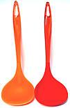 Силиконовый половник (270mm), разные цвета, фото 2