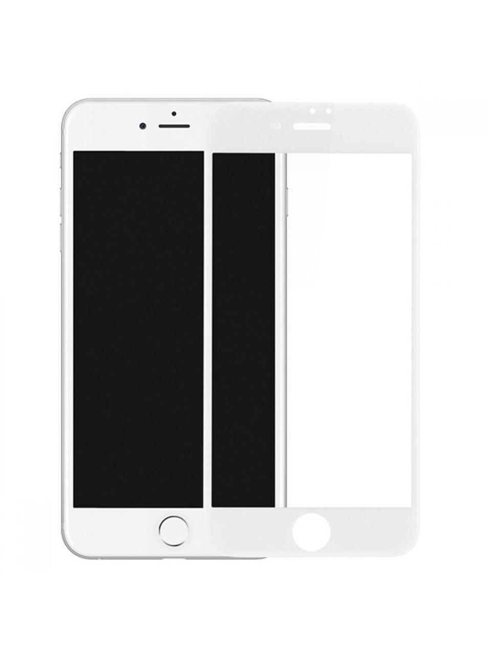 Захисне скло iPhone 6S Puls Full GLUE 2.5 D (Білий)