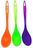 Силиконовая ложка (310mm), разные цвета, фото 2
