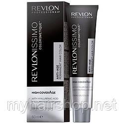 Стойкая краска для седых волос REVLON Revlonissimo High Coverage 60 мл