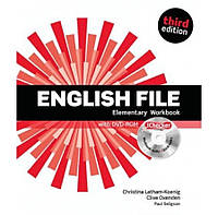 English File 3rd (third) edition Elementary Workbook Book