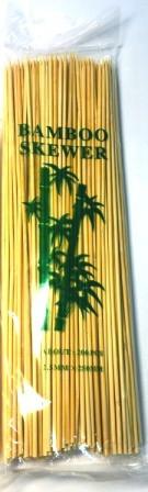 Бамбукові палички 250mm (200 шт/уп), бамбукові палички для шашлику