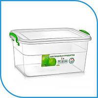 Пищевой пластиковый контейнер 5 л, бокс для еды