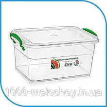 Пищевой пластиковый контейнер 3,5 л, бокс для еды
