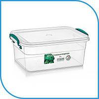 Пищевой пластиковый контейнер 3 л, бокс для еды