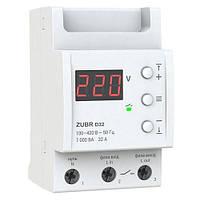 Реле напряжения D32 32А Zubr