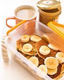 Пищевой пластиковый контейнер 1,15 л, бокс для еды, фото 2