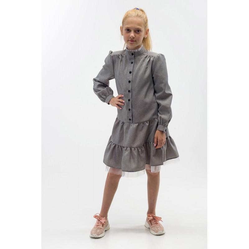 Платье Лилу РПЛ 2443серый