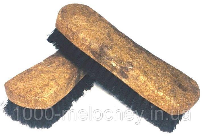 Щетка для чистки обуви и одежды 160mm, черная