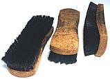 Щетка для чистки обуви и одежды 160mm, черная, фото 4