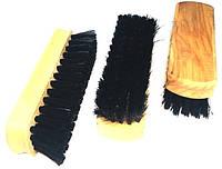 Щетка для чистки обуви и одежды 120mm, черная