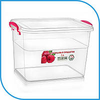 Пищевой пластиковый контейнер 7 л, бокс для еды