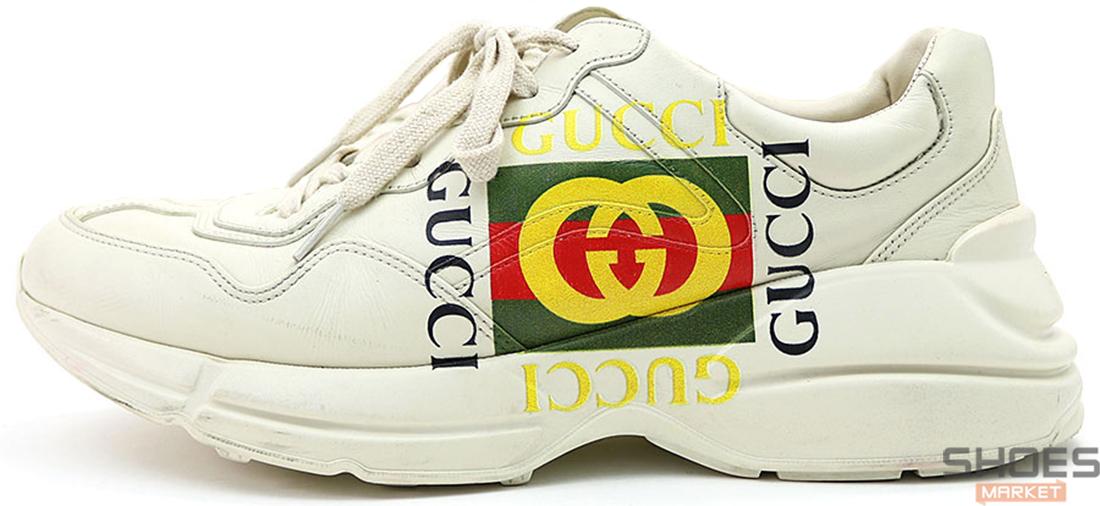 """Мужские кроссовки Gucci """"Rython"""" 500878 DRW00 9522, Гуччи Питон"""