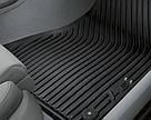 Оригинальные передние резиновые коврики Audi A6 (C7), артикул 4G1061501041, фото 2