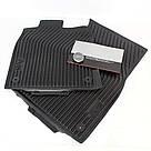 Оригинальные передние резиновые коврики Audi A6 (C7), артикул 4G1061501041, фото 3