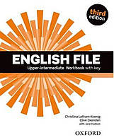 English File 3rd (third) edition Upper-intermediate Workbook Book