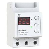 Реле напряжения D50t 50А Zubr c термозащитой