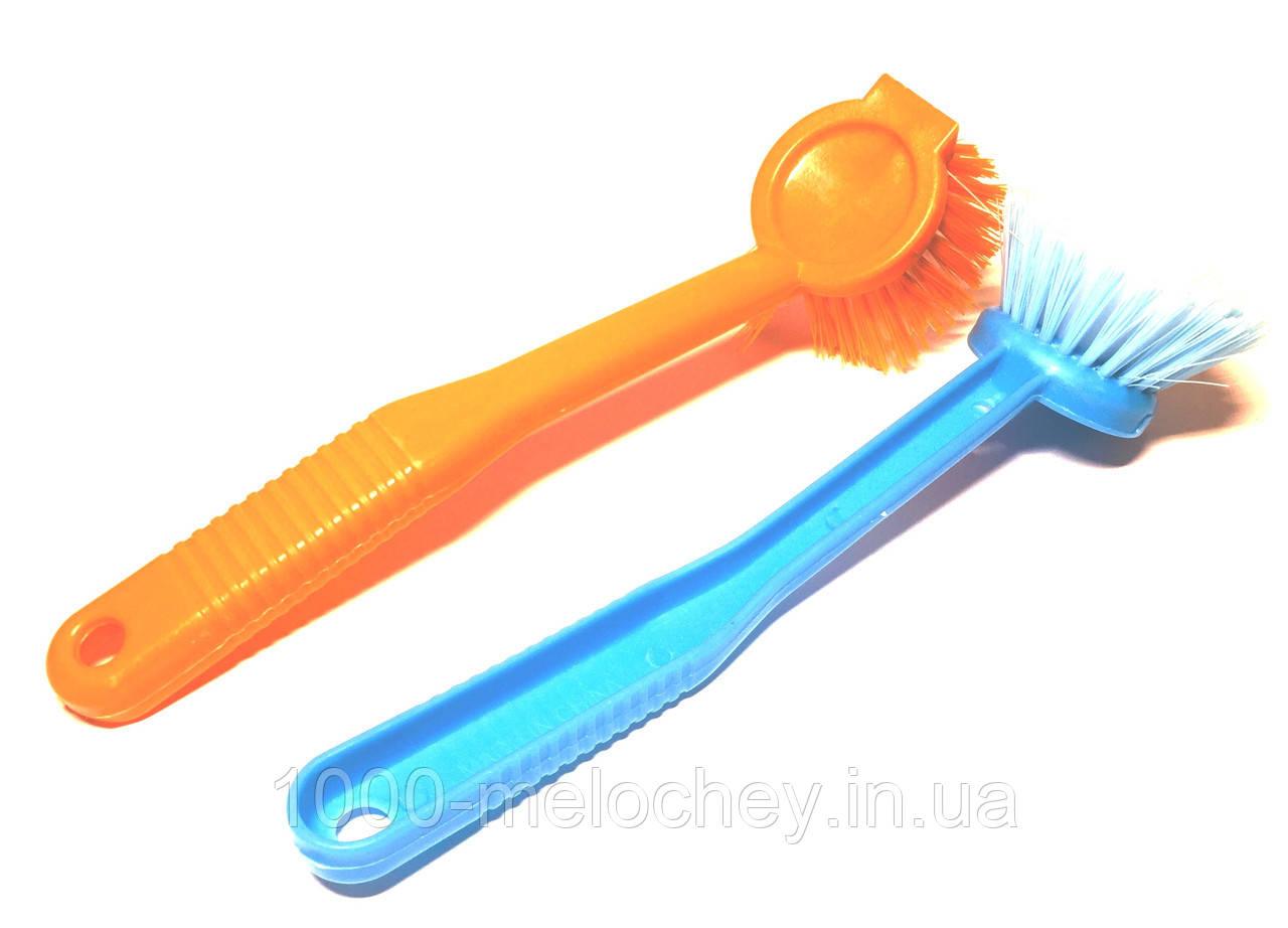 Щітка для посуду з довгою ручкою
