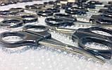 Ножницы маникюрные с черной ручкой Топаз, фото 3