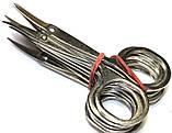 Ножницы маникюрные цельнометаллические Топаз (ручная заточка), фото 2