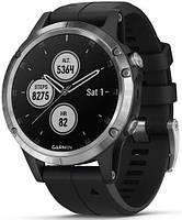 Смарт-часы Garmin Fenix 5 Plus Sapphire Silver (010-01988-11), фото 1