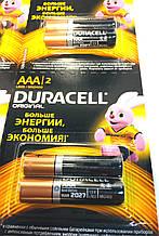 Батарейки Duracell минипальчиковые, LR03/AAA MN2400