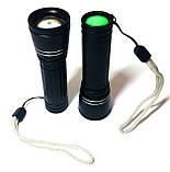 Фонарик карманный малый, ручной фонарь, h=90mm, фото 3