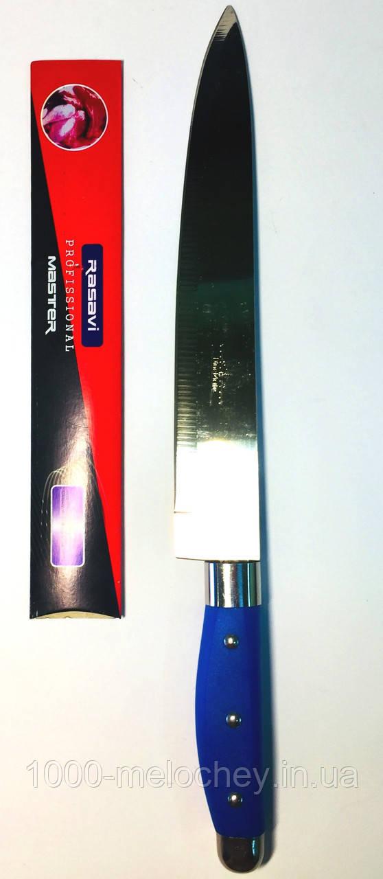 Ніж універсальний кольорова ручка № 9 Rasavi, ніж кухонний (340 mm)