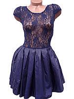 Нарядное платье с фатиновым подъюбником (в расцветках 40-46), фото 1