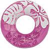 Intex 59251 Надувной круг Перламутр 90 см Сиреневый