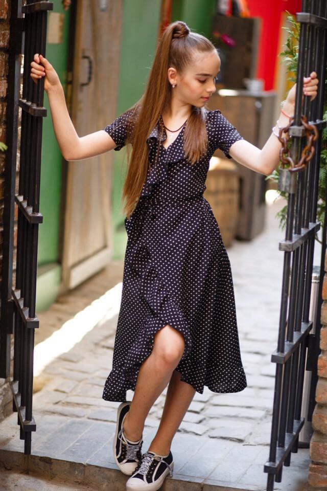 Платье LiLove 524 140 черный