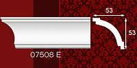 Плинтус потолочный 07508Е 53*53мм 2м