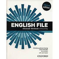 English File 3rd (third) edition Advanced Plus Workbook Book
