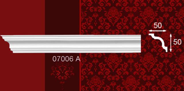 Плинтус потолочный 07006А 50*50мм 2м