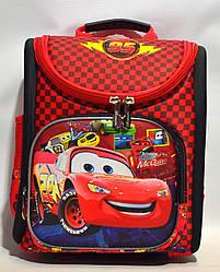 Школьный рюкзак для мальчика Тачки с ортопедической спинкой