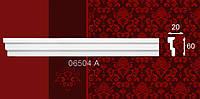 Плинтус потолочный 06504А 20*60мм 2м