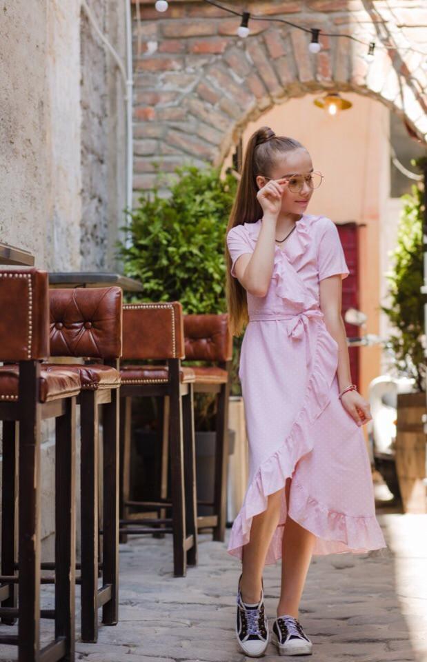 Платье LiLove 524-1 134 розовый