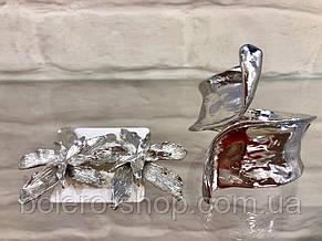 Браслет женский  металл итальянская бижутерия серебро, фото 2